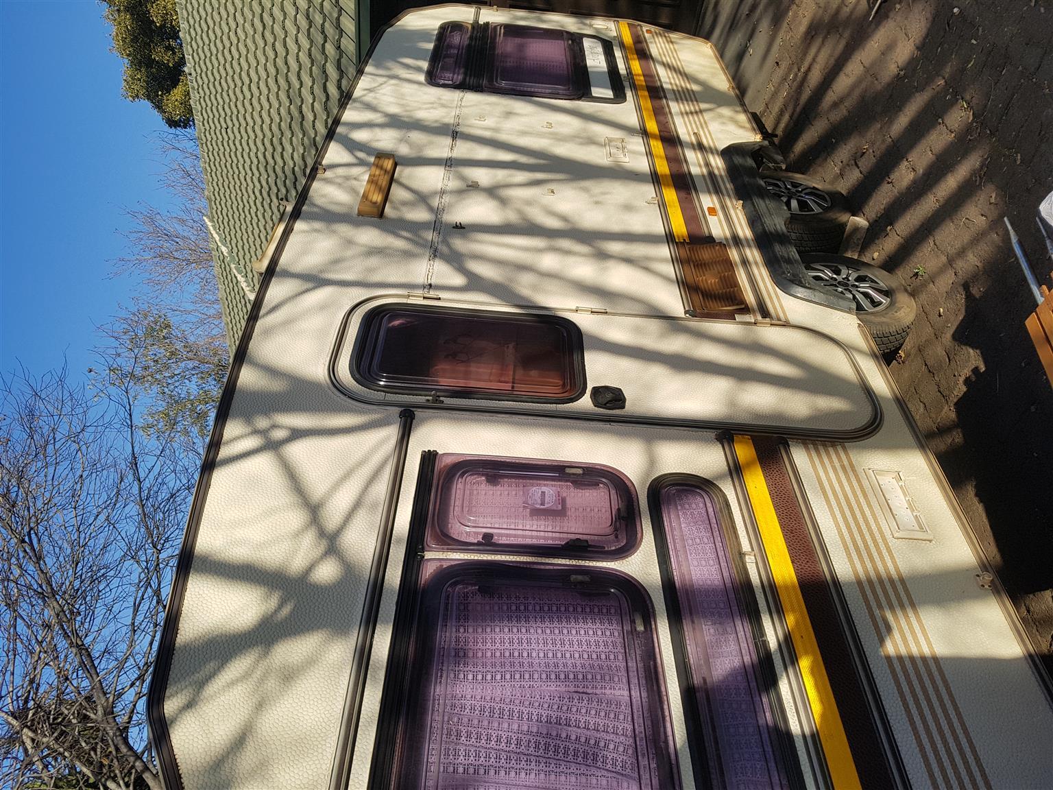 Wilk  caravan Double Axle
