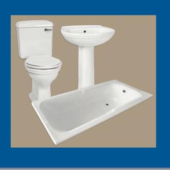 Sanitary : Bath Set 7 piece Black + Mech