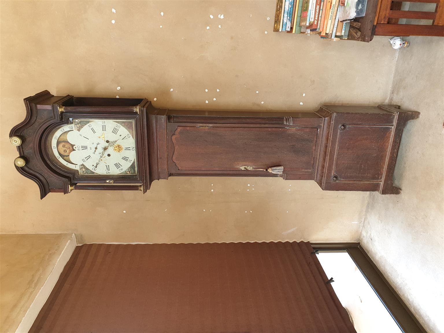 Monkhouse grandfather clock | Junk Mail