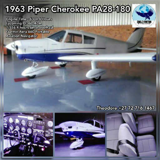 1963 PIPER CHEROKEE PA28-180 FOR SALE