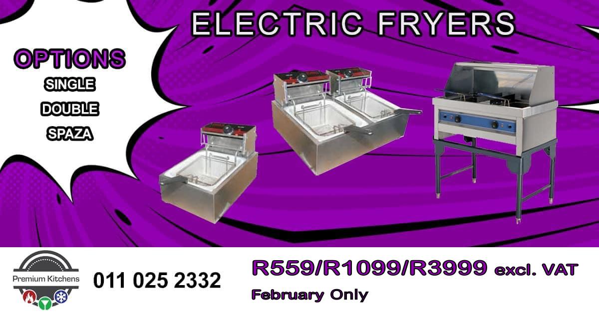 Electric Fryer Speacials