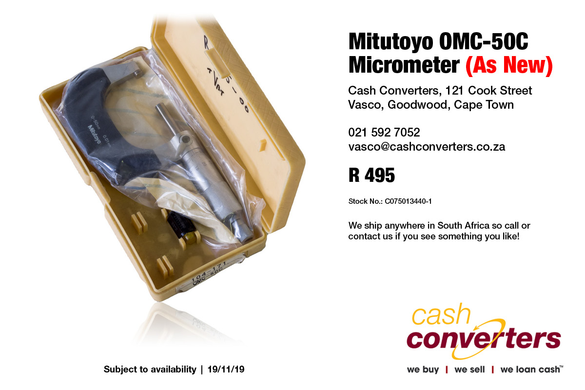 Mitutoyo OMC-50C Micrometer (As New)