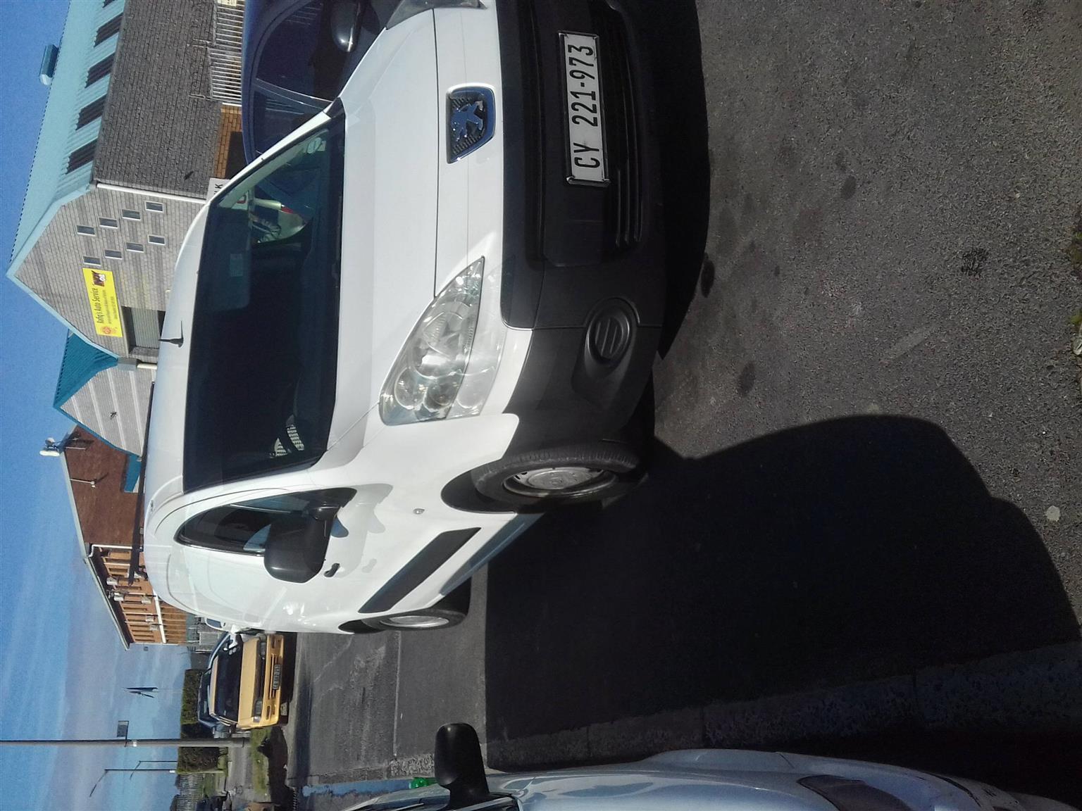 2012 Peugeot Partner panel van PARTNER 1.6 HDi F/C P/V