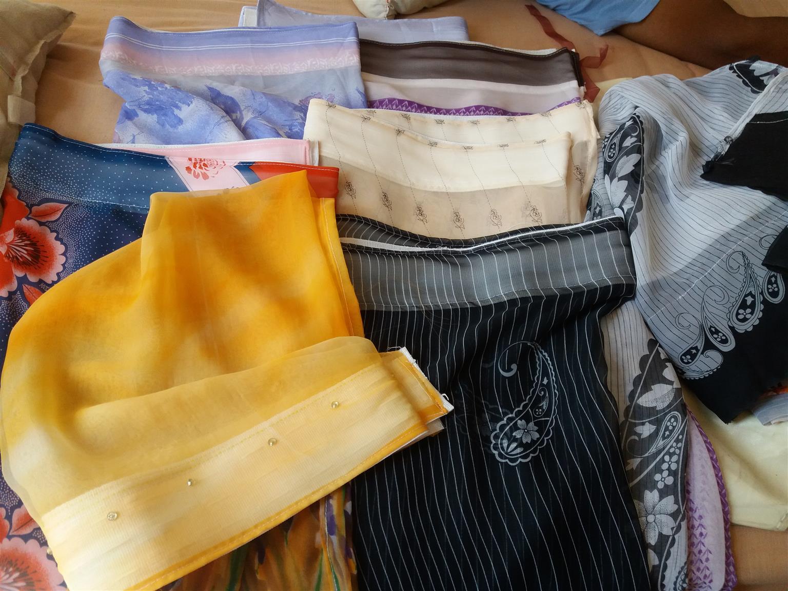 New Half Length Curtains
