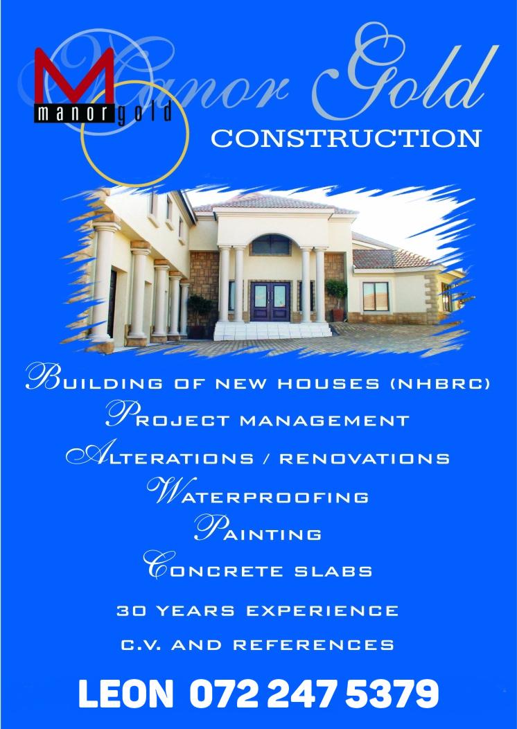 Manor gold construction