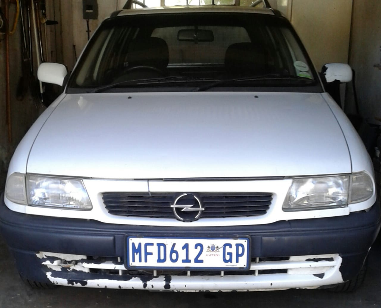 1996 Opel Astra 160i estate manual