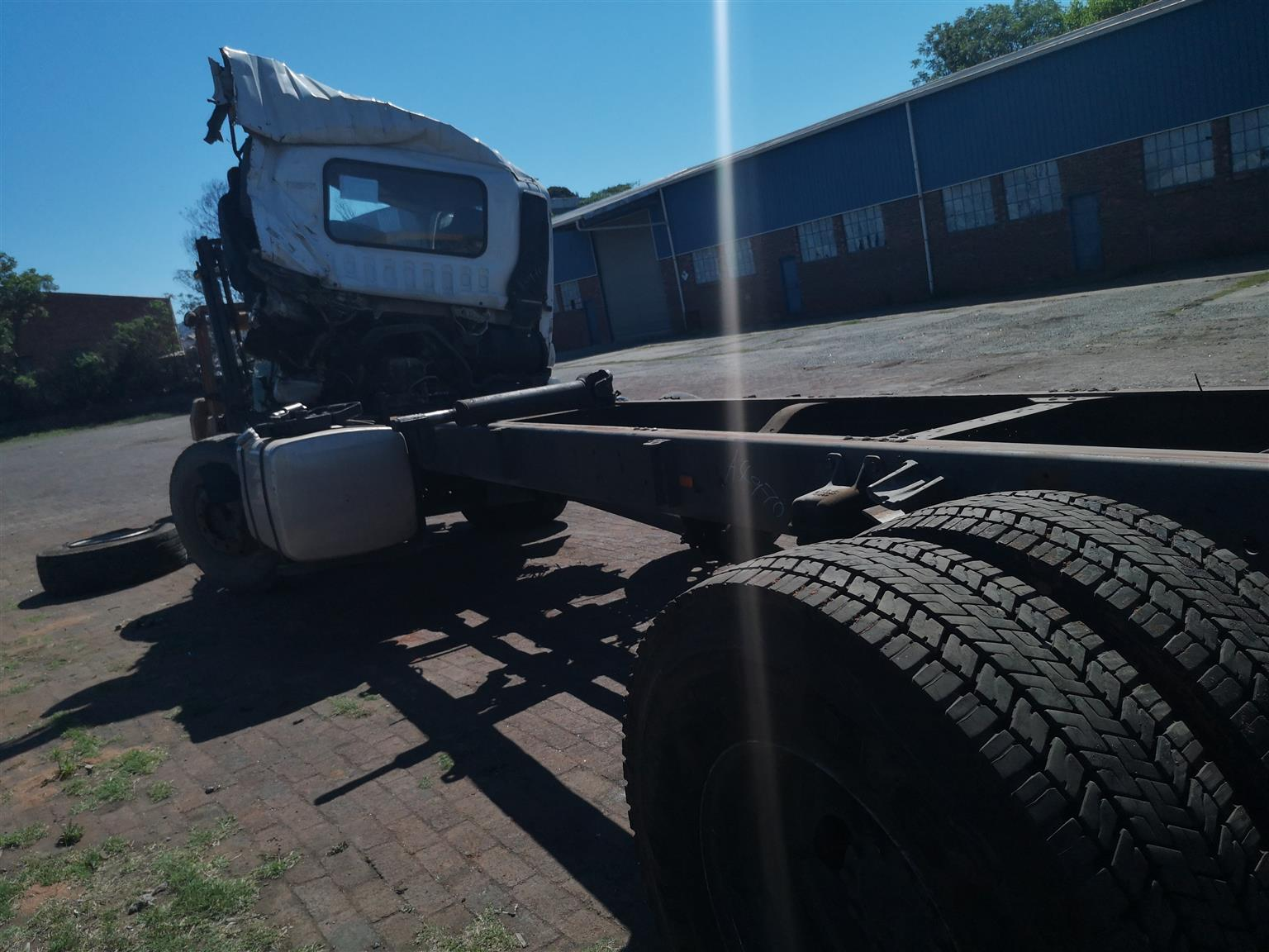 ISUZU FVR 900 Smoother 2016 - Stripping for spares only