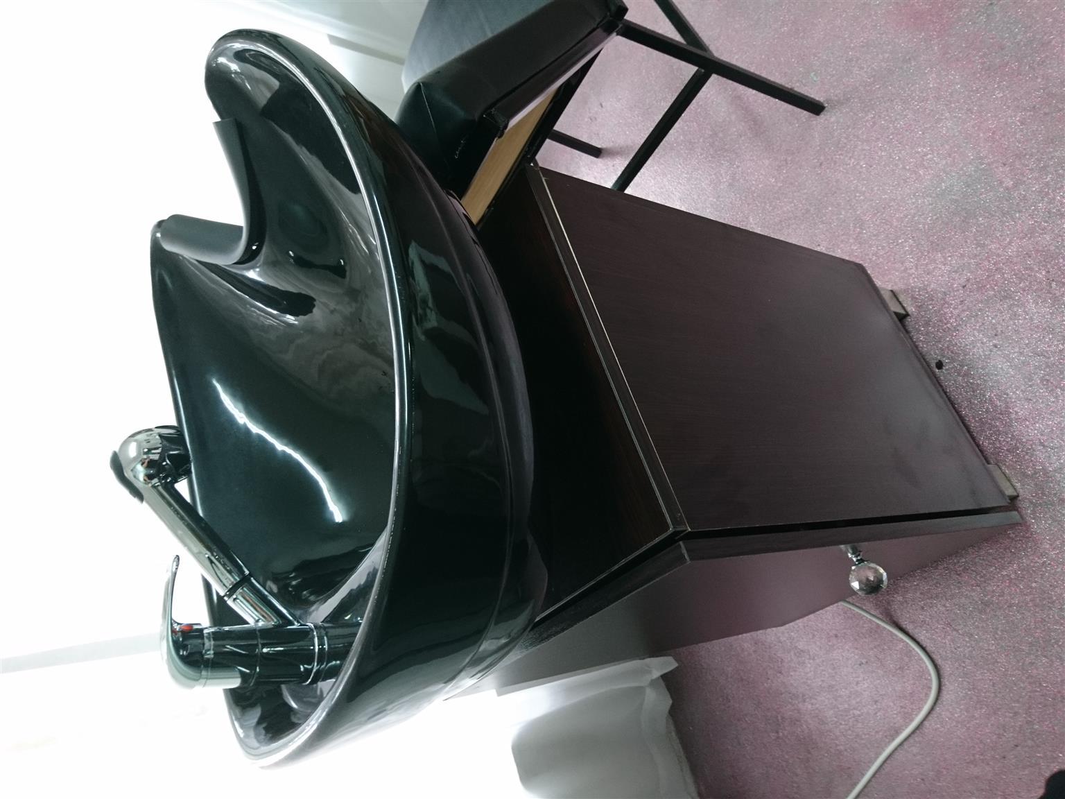 Salon Basin and chair