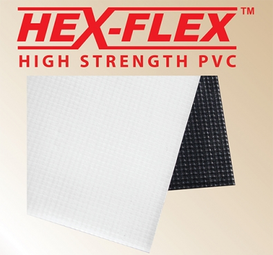 Digital Print Media: Hex-Flex White/Black Gloss 1370mm X 50m