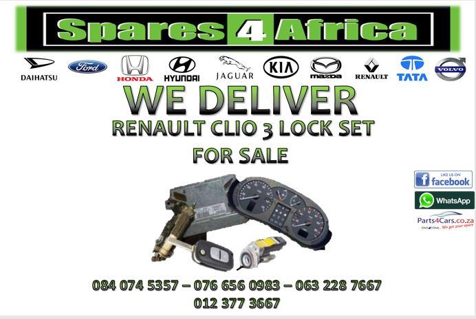RENAULT CLIO 3 LOCK SET FOR SALE