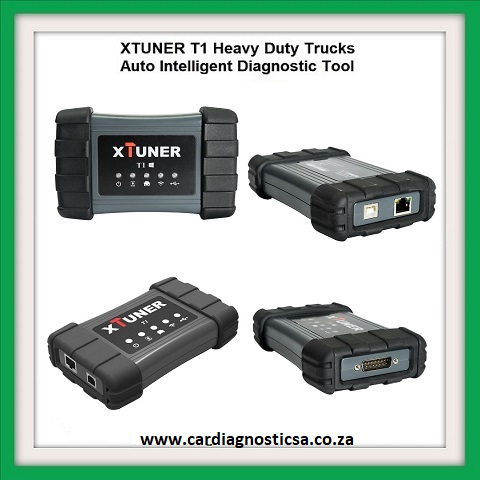Truck diagnostic: XTUNER T1 HD V13.1 Heavy Duty Trucks Auto Intelligent Diagnostic Tool