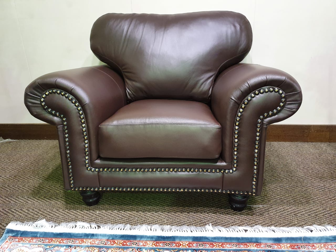 CWA 100% genuine full leather 321 lounge suite WAS R 42495 NOW R 34995