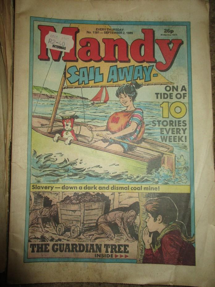 Mandy ; Bunty ; Judy Comics 1989 x 6