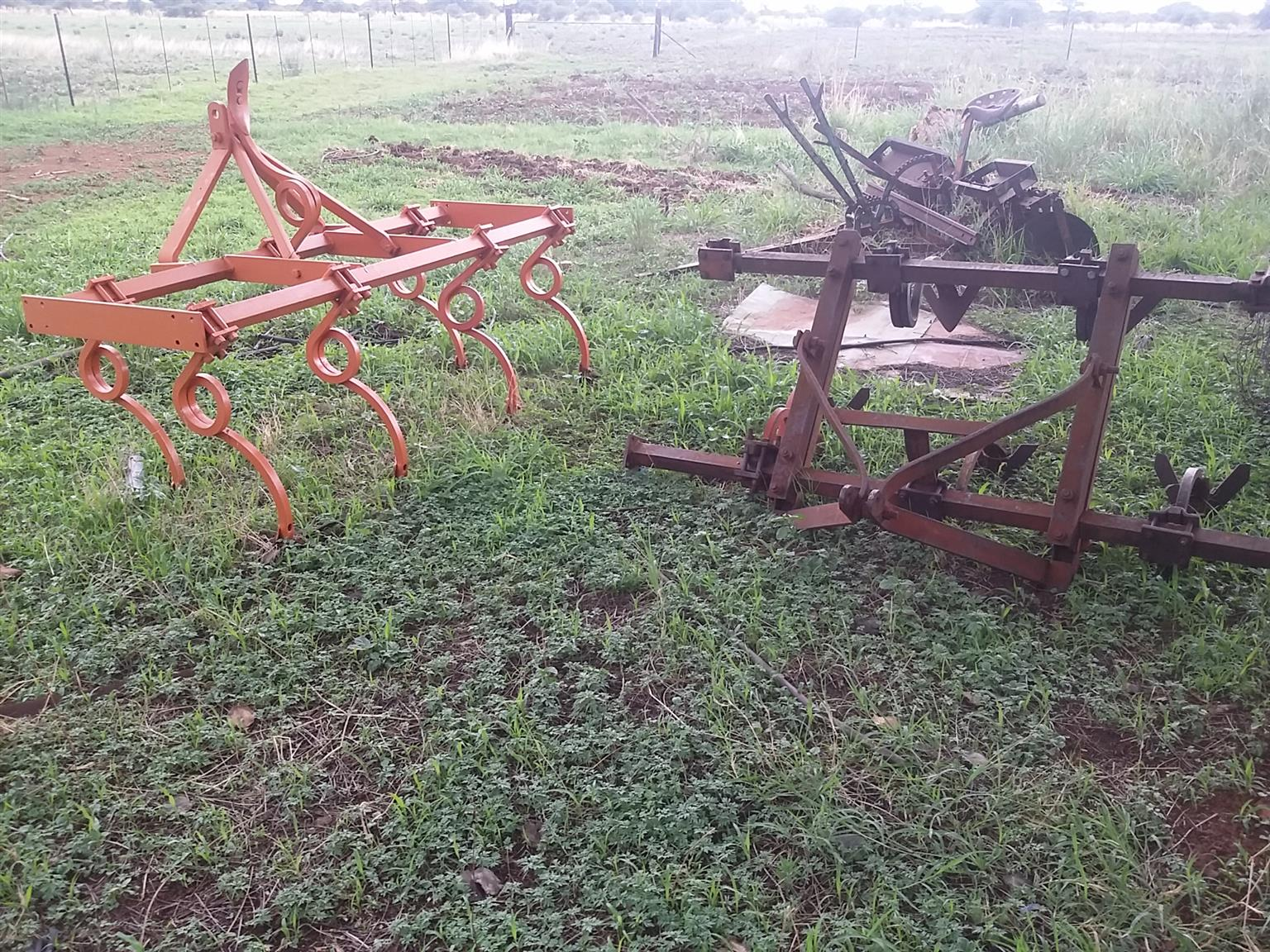 Various Farm Implements to Choose from