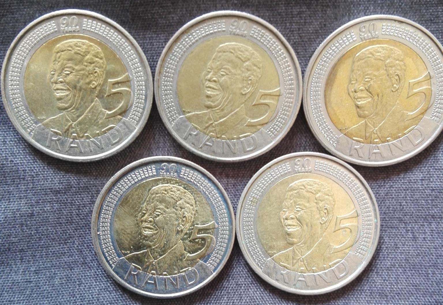 R5 Coins For Sale