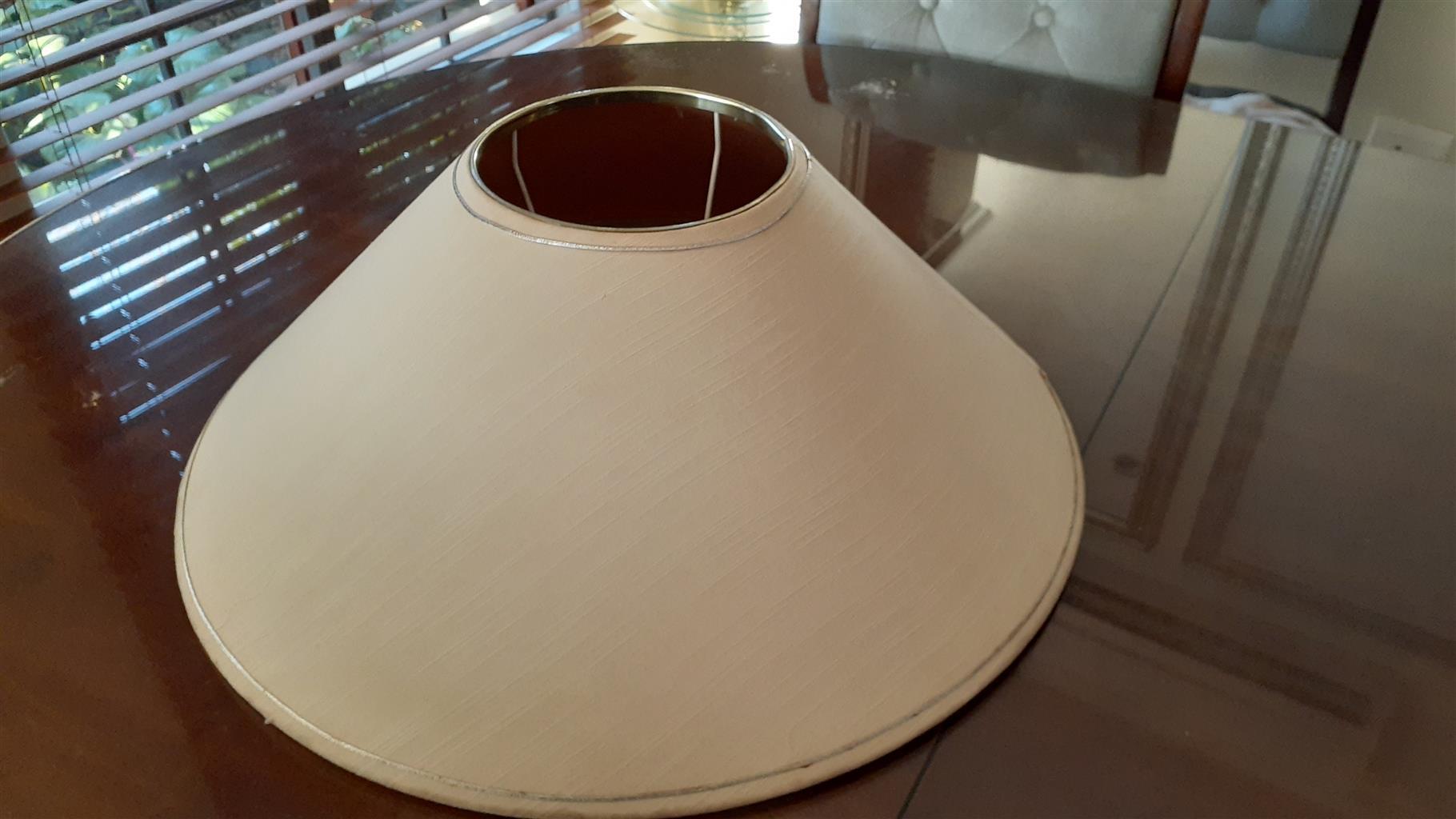 Big Cream Lamp shade