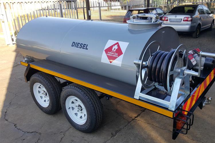Water Tank and Diesel Bowzers