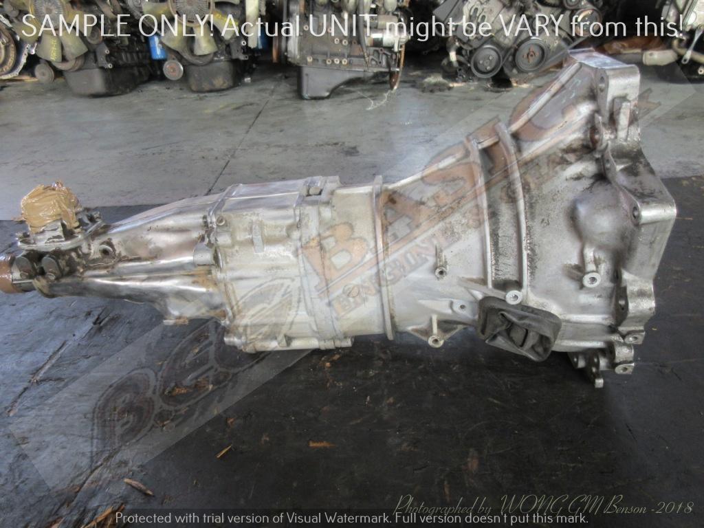 MAZDA F8 or FE  -2X4 MANUAL RWD Gearbox