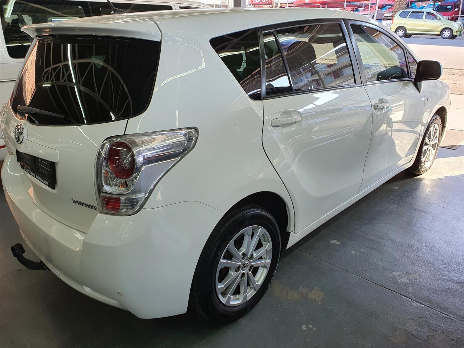 2011 Toyota Verso 1.8 TX