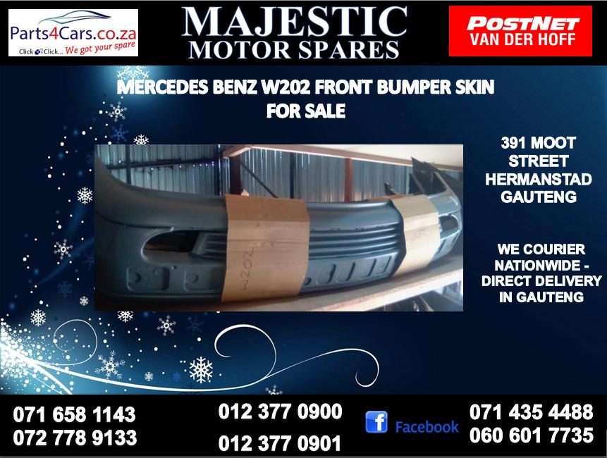 Mercedes benz w202 bumper skin for sale