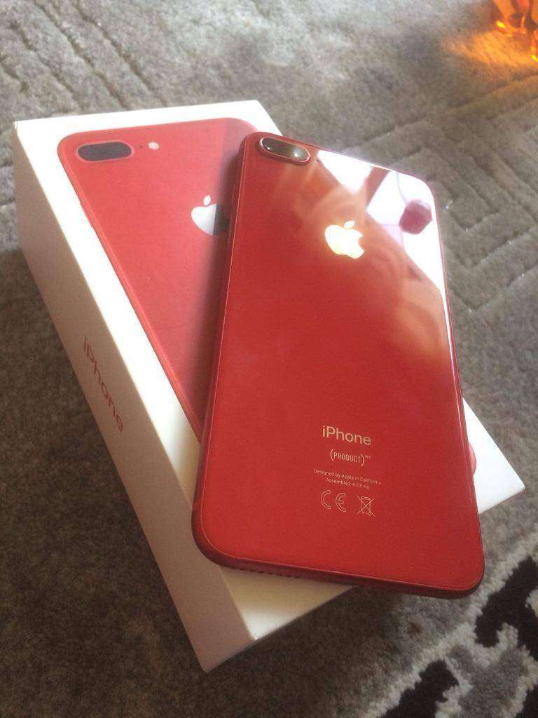 dd91c7812f7 In red colour selling bn Apple iPhone 8 Plus Red 64GB