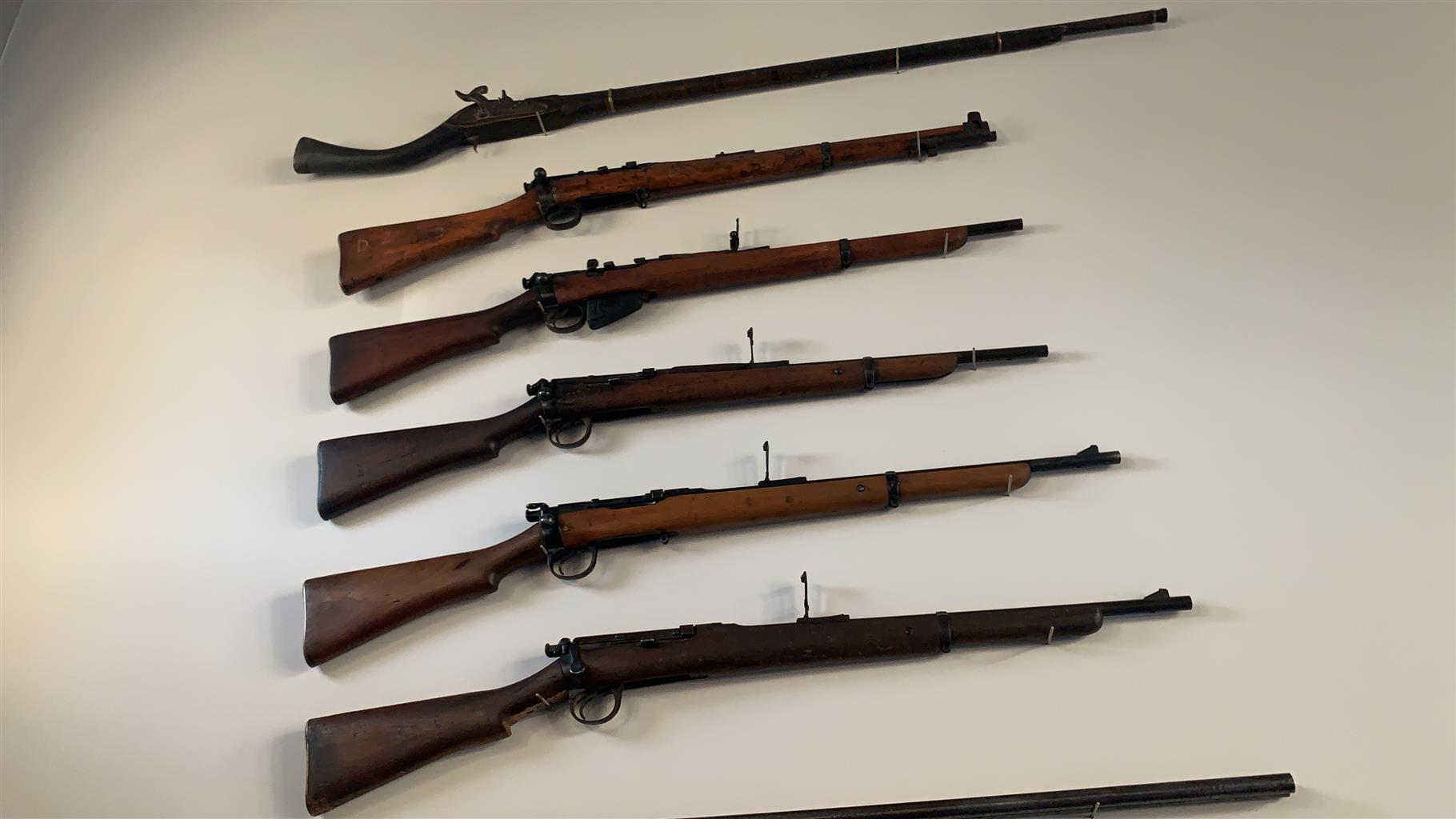 Rifle deactivated guns