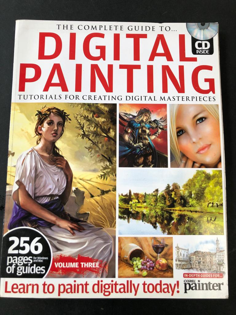 The Complete Guide to Digital Painting Tutorial for creating digital