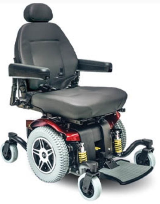 New Electronic Wheelchair Pride Jazzy 614HD with New Batteries