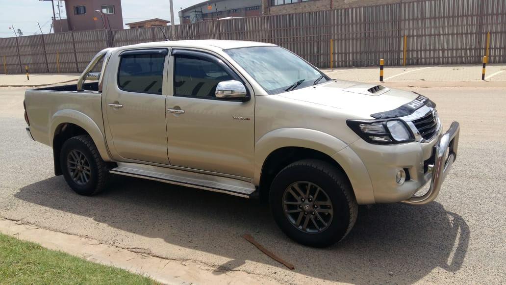 2014 Toyota Hilux 3.0D 4D double cab Raider