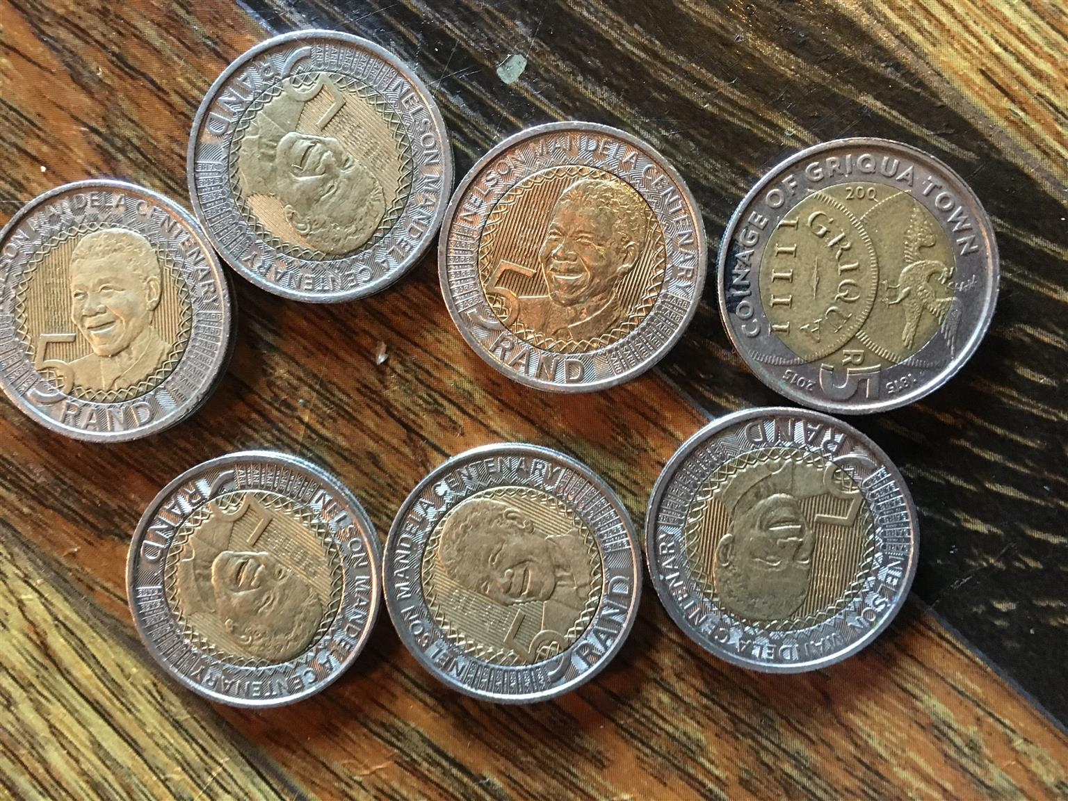 Selling my Mandela coins,are in a good condition. Price can be negotiated