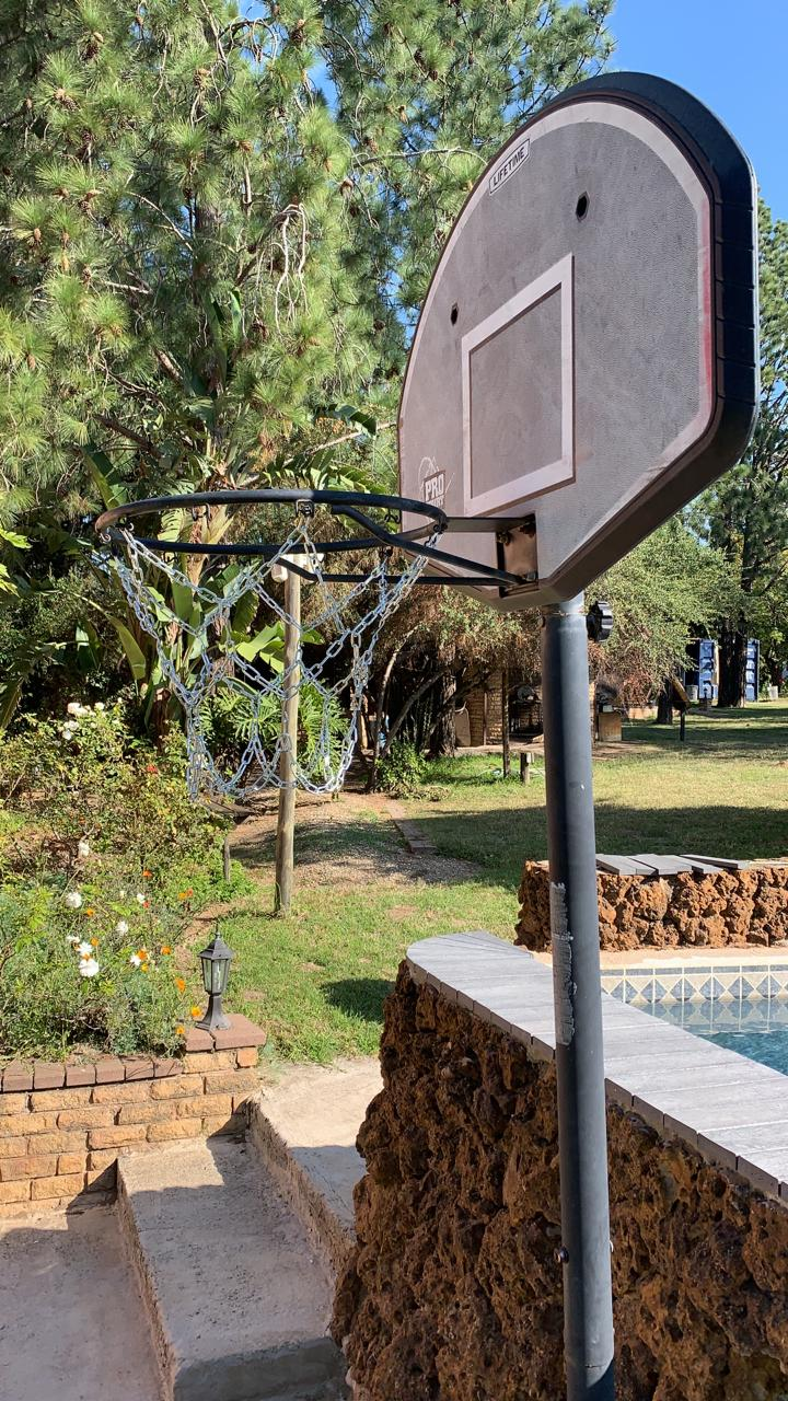 Basketball – Netball chain type net