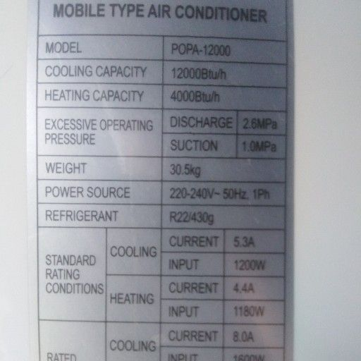 Moble Aircon