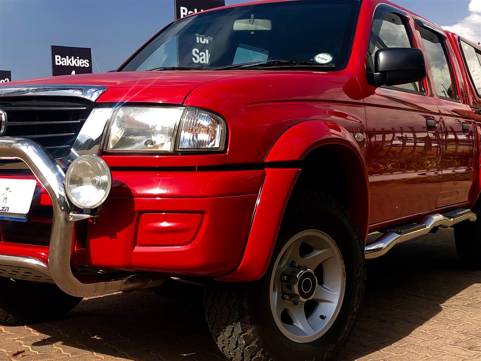 2007 Mazda Drifter B2500TD hi ride double cab SLE