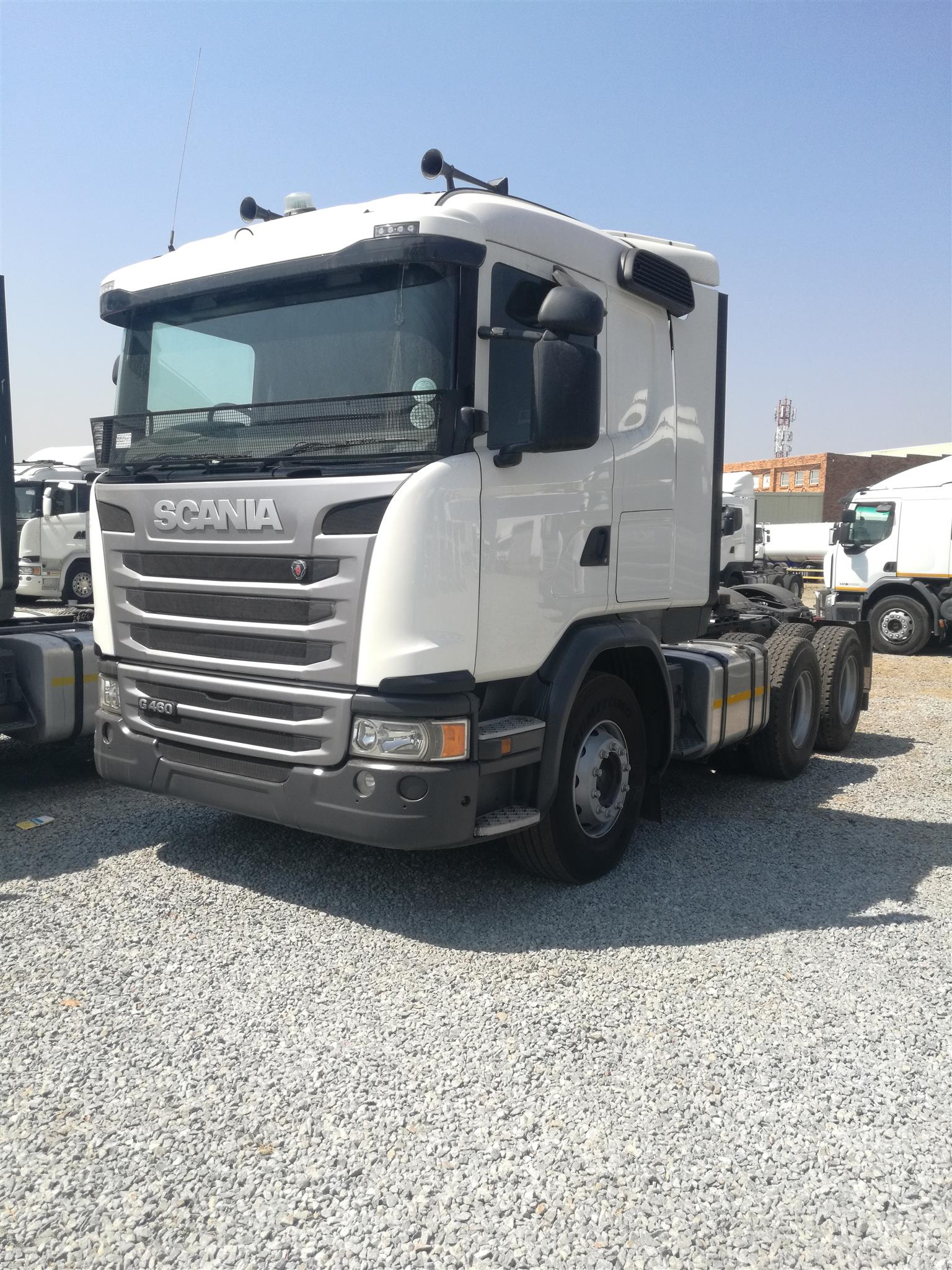2016 SCANIA G460 DOUBLE DIFF HORSE FOR SALE