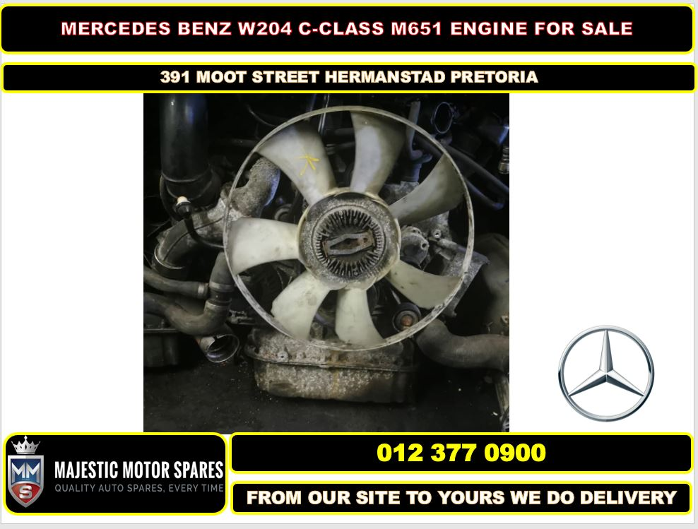 Mercedes Benz C-Class M651 used engine for sale