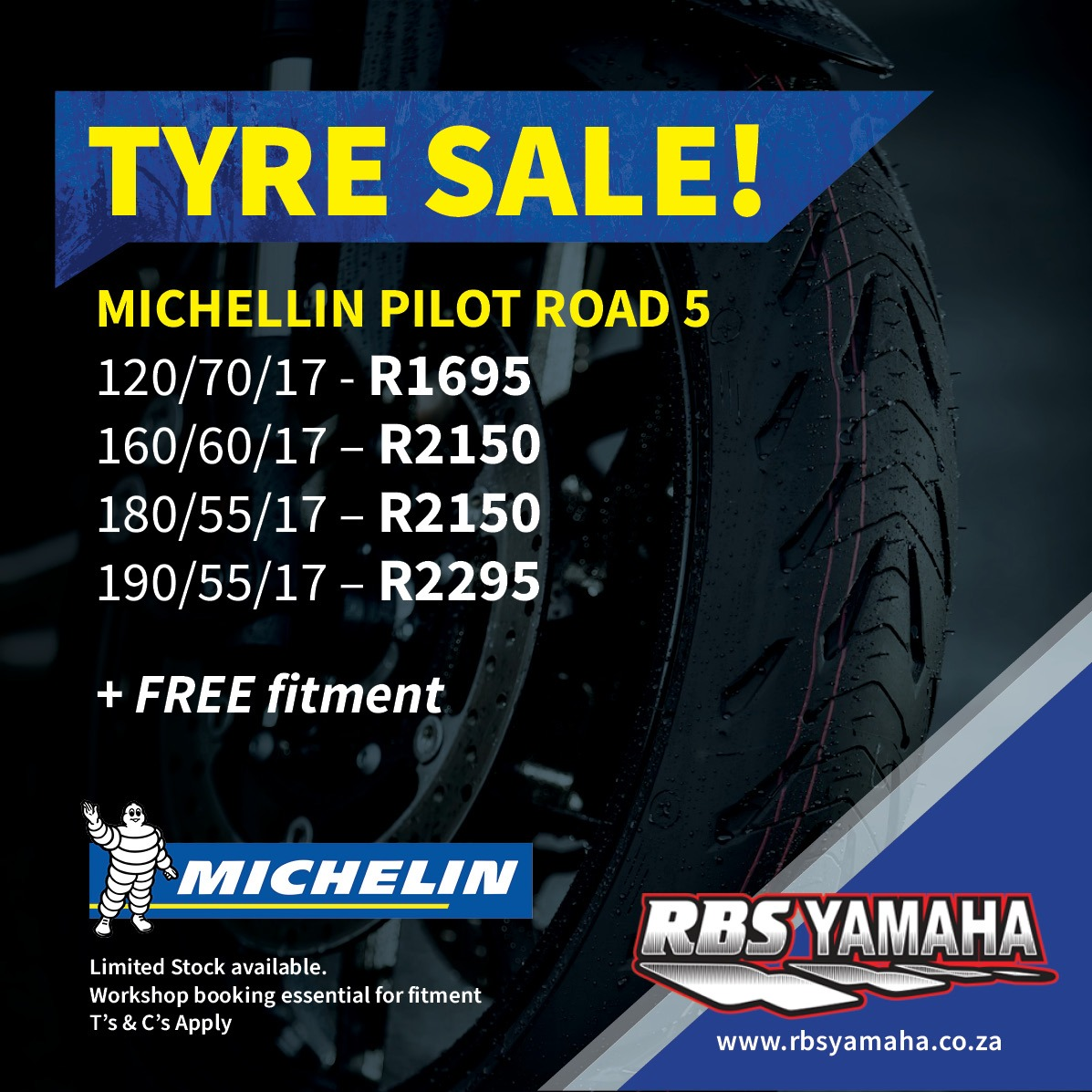 Michelin Motorcycle tyre special
