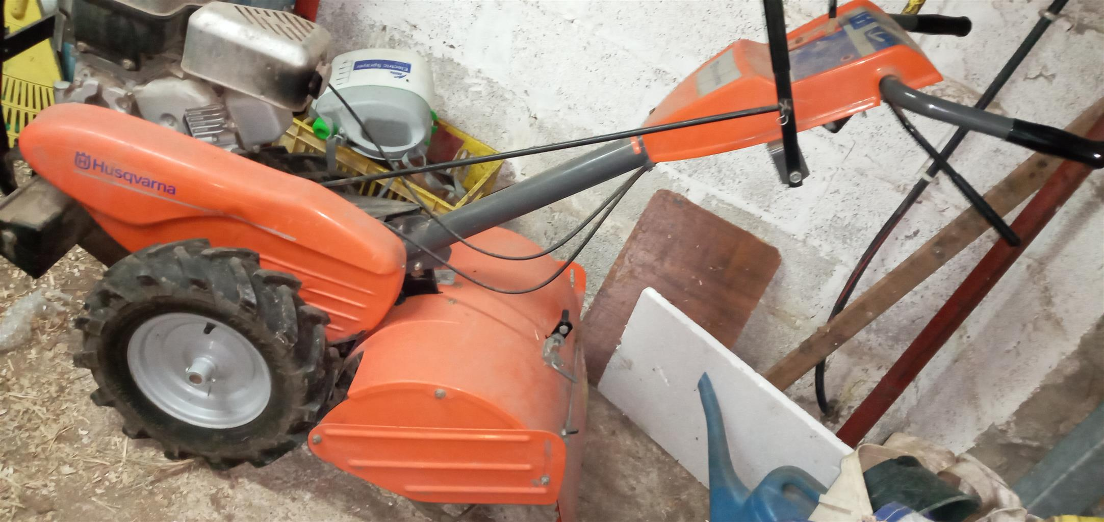 Rotavator up for grabs