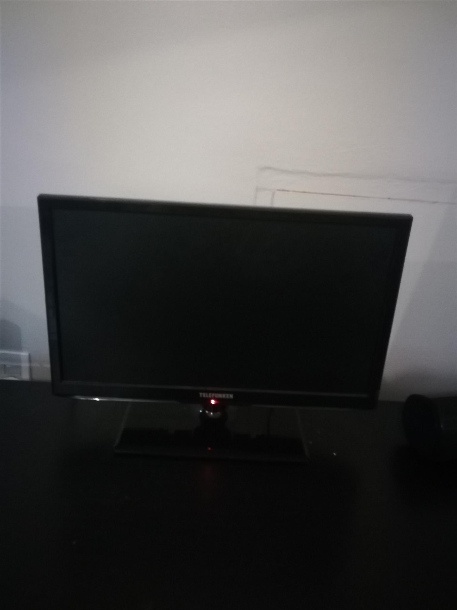 Telefunken 28 inch flat screen TV