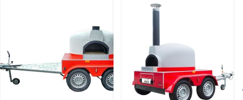 Italian Pizza Trailers For sale