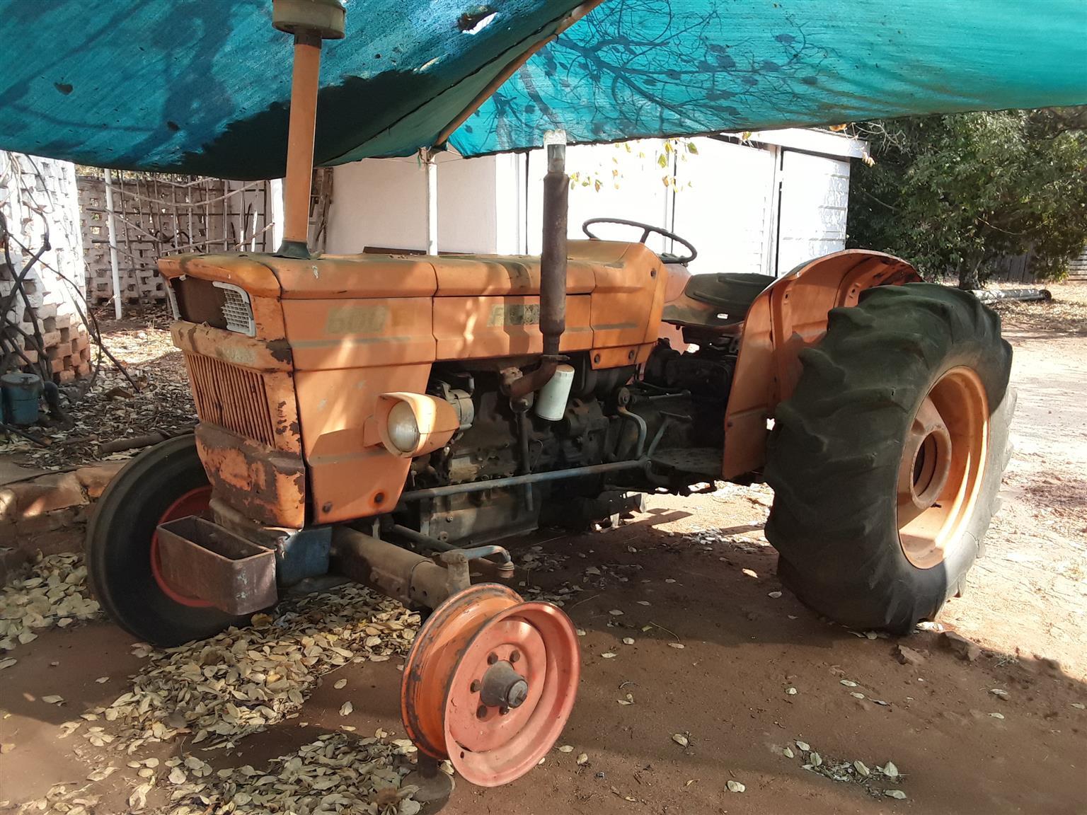 Fiat 600S Tractor