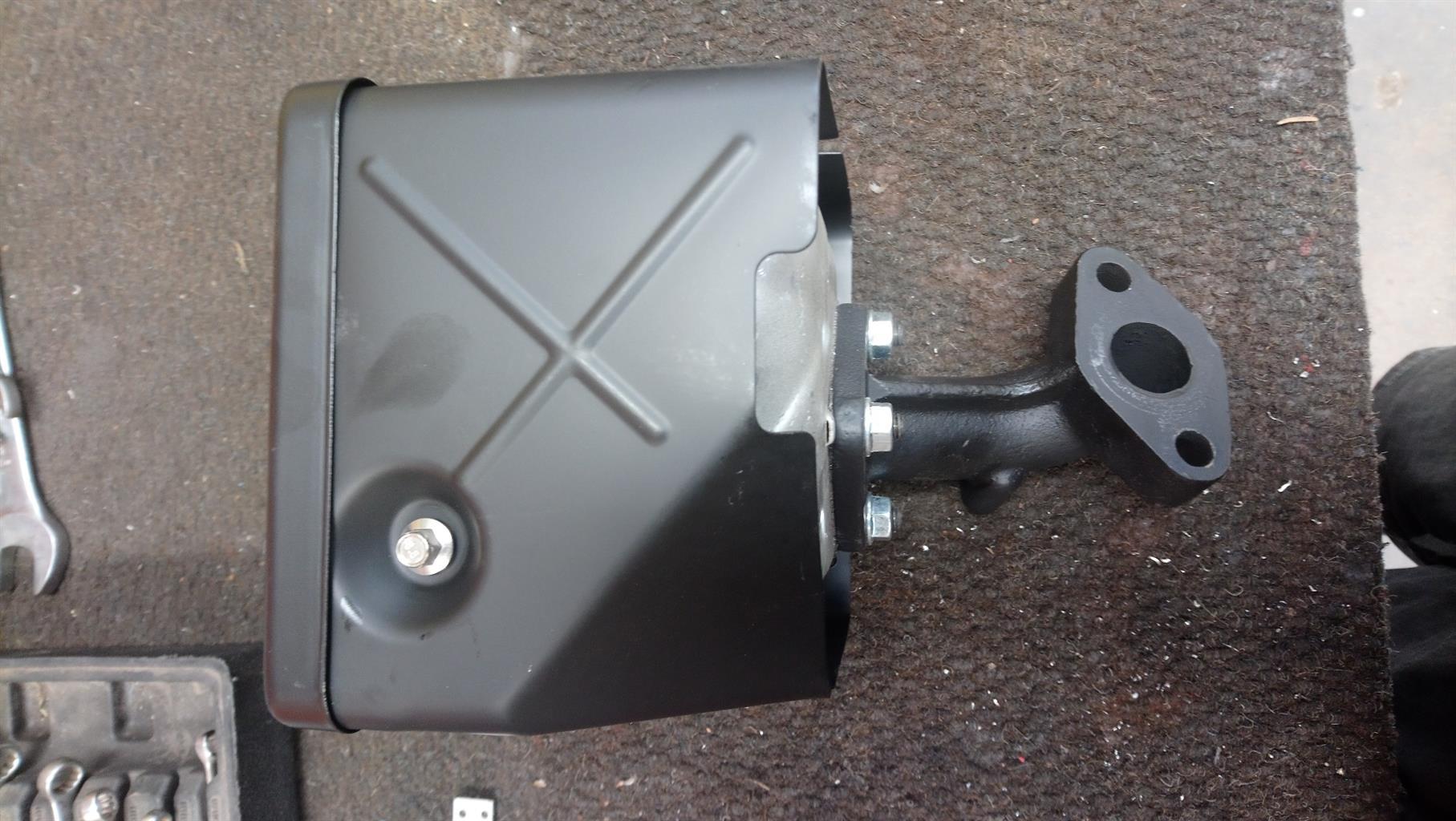 Kohler Ch440 exhaust new