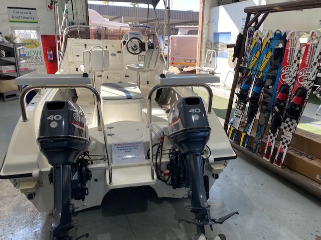 Seacat 16 F/C with 2 x Yamaha 40HP Motors