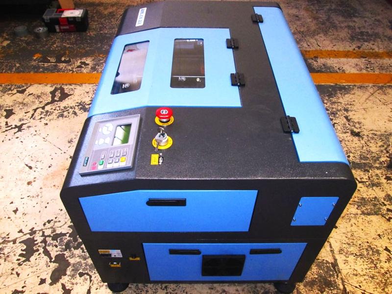 LC-6040/D100 TruCUT Standard Range 600x400mm Cabinet Type, Double Laser Head Laser Cutting