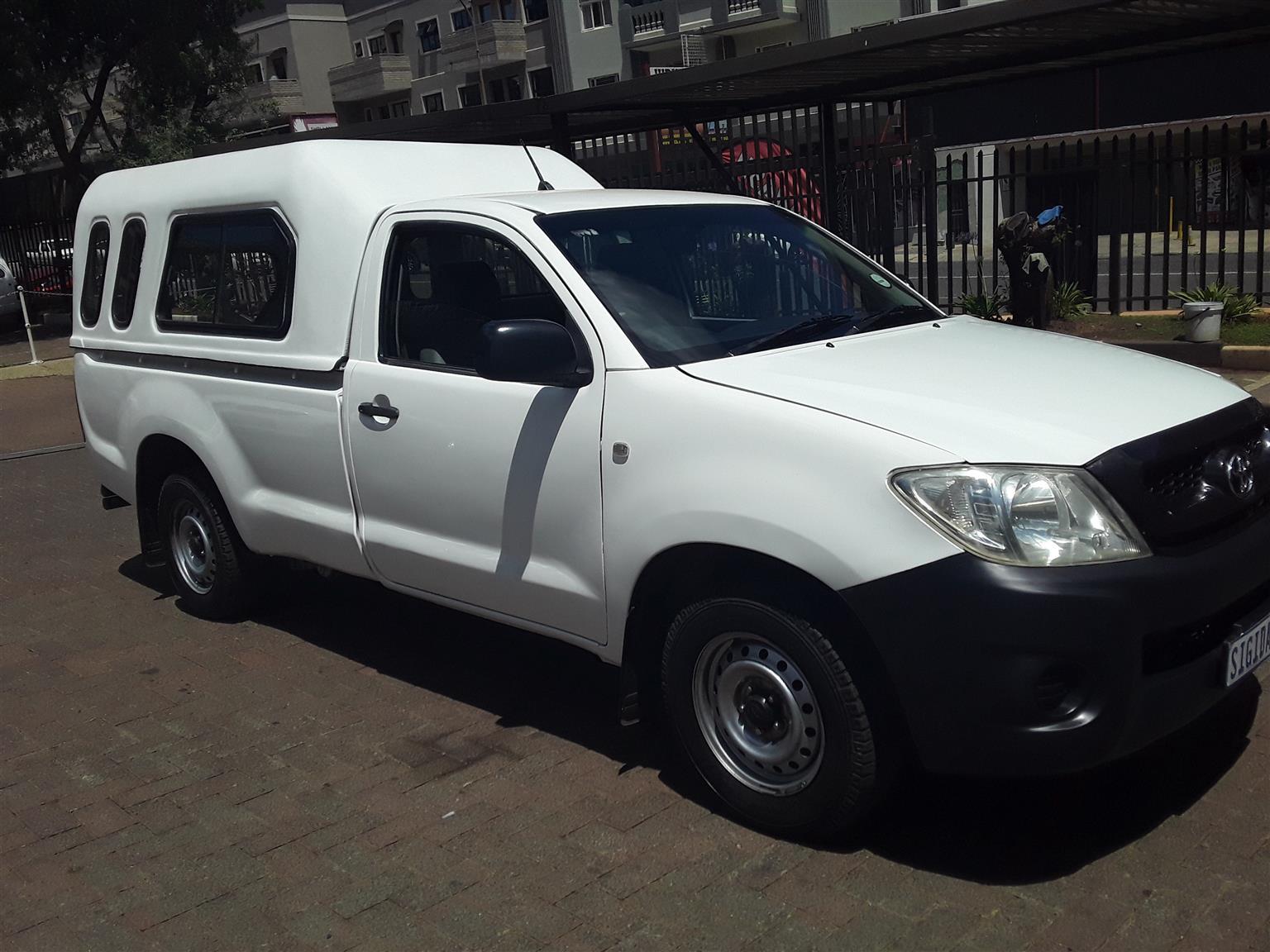 2009 Toyota Hilux single cab HILUX 2.4 GD A/C P/U S/C