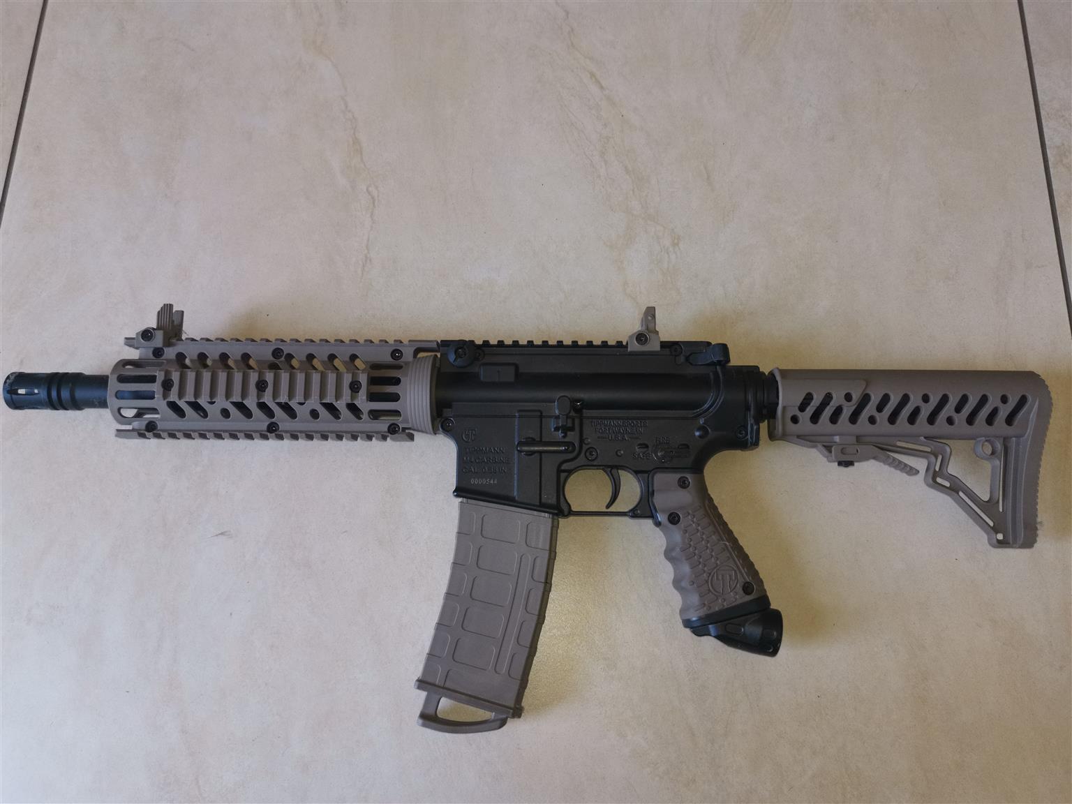 Tippmann M4 paint ball gun