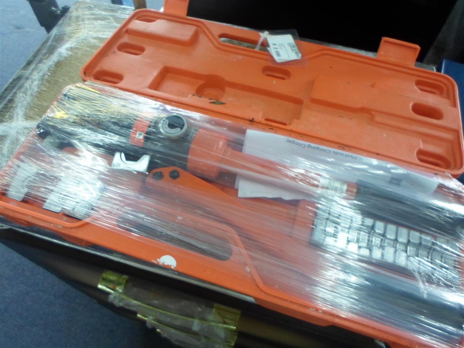 Three-D HP-240 Hydraulic Crimping Tool