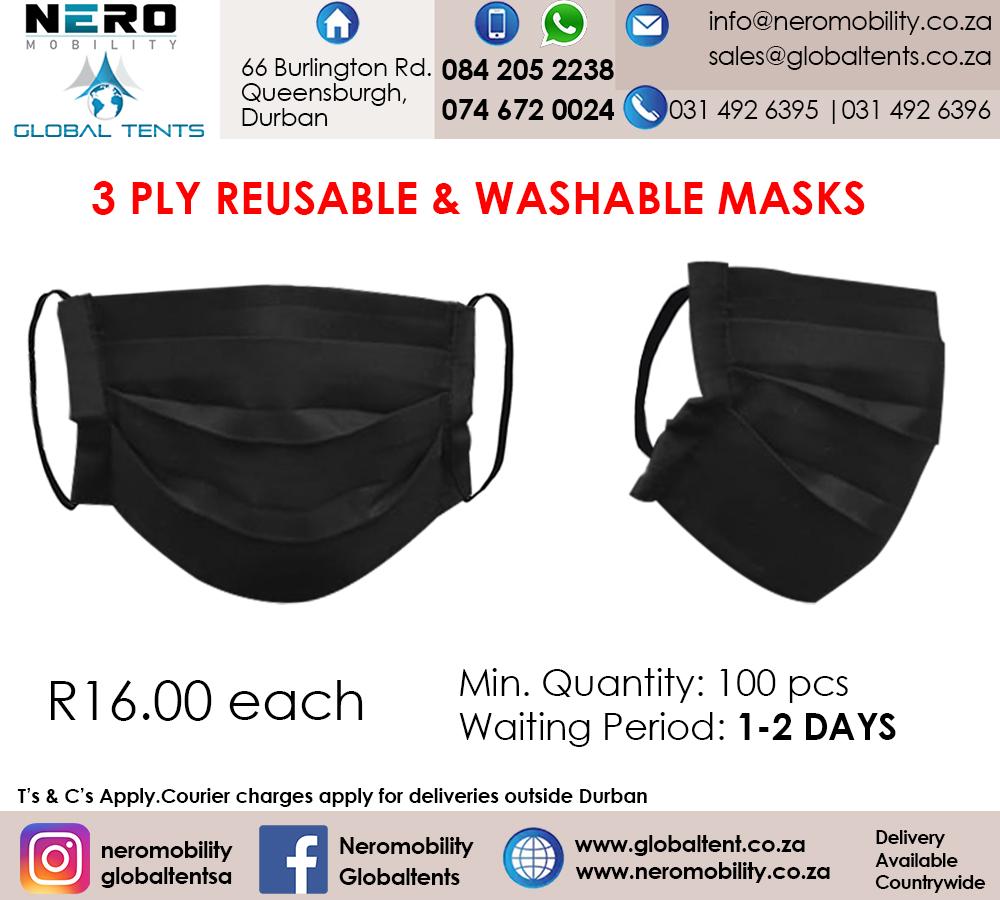 Masks- gloves- hygiene equipment- medical suits