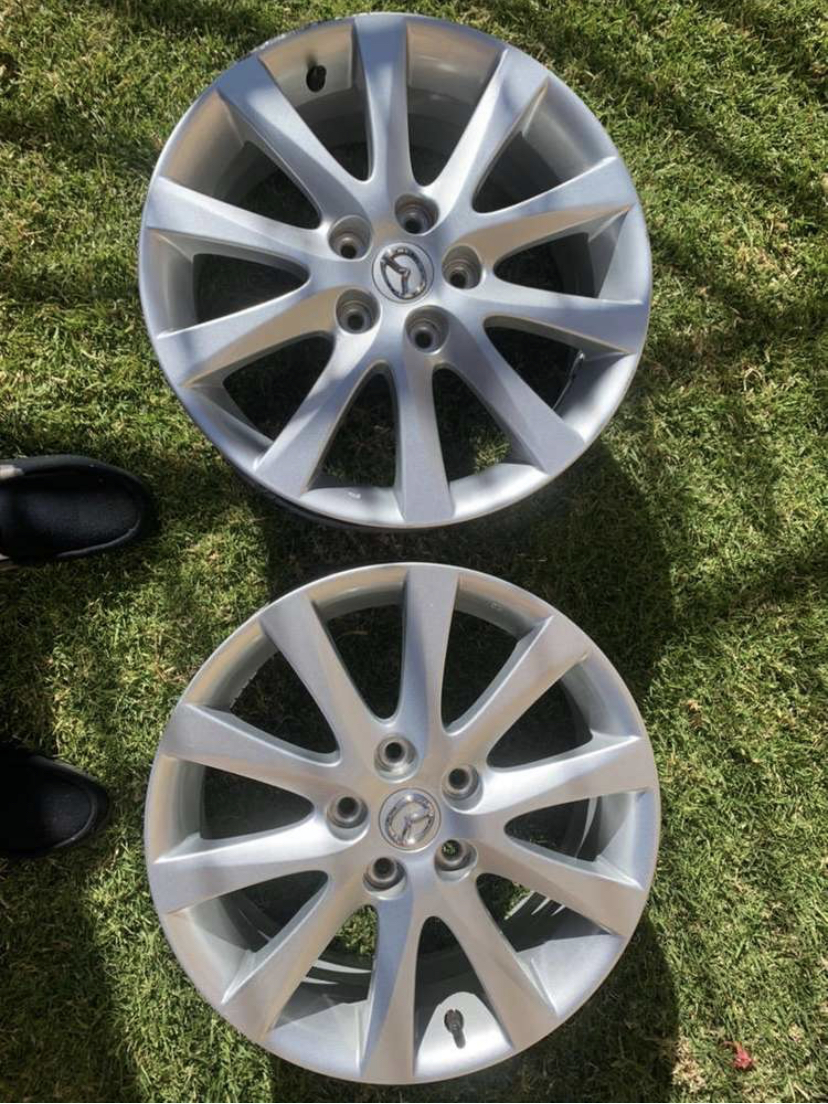 Original 17 inch Mazda mags to fit 5/114