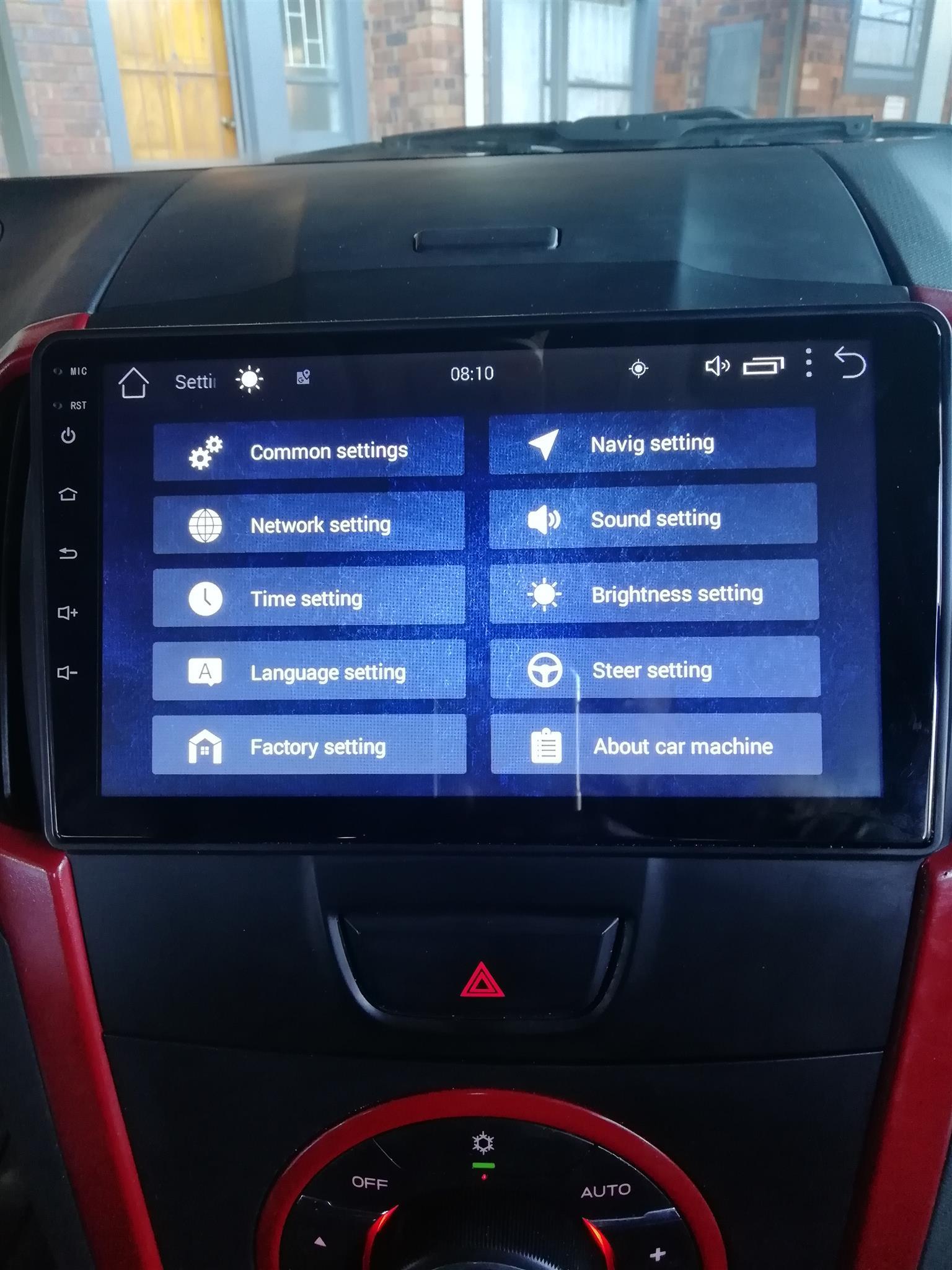 Isuzu Android Radios