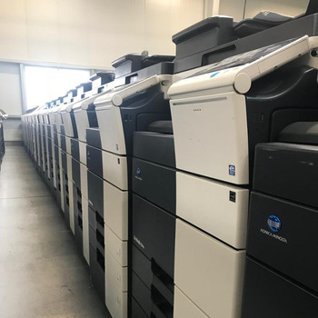 NEW & REFURBISHED KONICA MINOLTA AND CANON COPIERS TO CLEAR | 12 MONTHS WARRANTY R 8000